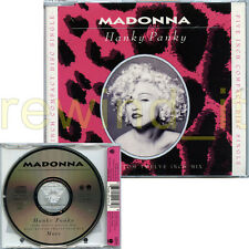 "MADONNA ""HANKY PANKY"" RARE CDsingle 3 TRACKS 1990"