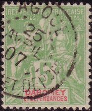 DAHOMEY - TYPE GROUPE - N°90 - CACHET AGOUE LE 25-4-1907.