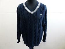 "Lacoste Sport Sweater Jumper Mens Pale Navy Size 6 46"" Grade A LB794"