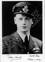 STTF01 WWII WW2 RAF Battle of Britain ace NEIL DFC* signed photo