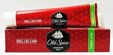 4 x 70gm-Old Spice Lather Shaving Cream Fresh Lime-Lowest Price & Fast Shipping