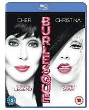 BURLESQUE (Cher, Christina Aguilera) - BLU-RAY - REGION B UK