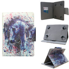 "Fits NABI XD Universal 10"" inch Colorful Horse Tablet Folio Case"