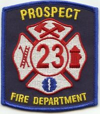 PROSPECT CONNECTICUT CT FIRE PATCH