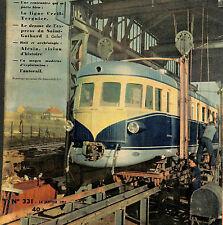 REICHSHOFFEN FABRIQUE AUTORAILS ALSTOM ARTICLE PRESSE PAR GASTON FORCE 1952