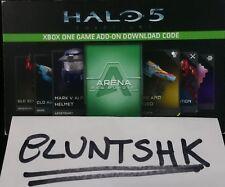HALO 5 DLC XBOX ONE Arena Requisition REQ Pack DLC bonus Mark V Alpha Armor Set