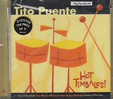Tito Puente Hot Timbales 2CD New Nuevo  Sealed