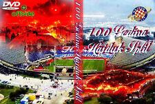 DVD 100 YEARS ANNIVERSARY HAJDUK SPLIT(GODINA,ULTRAS,TORCIDA 1950,ULTRA,CROATIA)