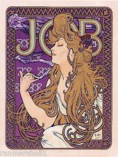 Job Cigarettes Paris #2 Vintage French France Poster Picture Print Advertisement