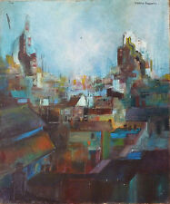 Martin ROLLAND (1926) HsT Années 50 Jeune Peinture Nouvelle Ecole de Paris