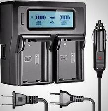 Neewer Dual LCD Battery Charger for Nikon EN-EL15 Batteries Compatible Nikon