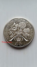 1996 * UNC * ALDERNEY £ 5 Cinque sterline celebrazione di 70th anno di sua maestà-km#15