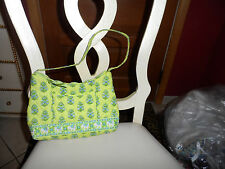 Vera  Bradley small handbag in Citrus Elephant pattern