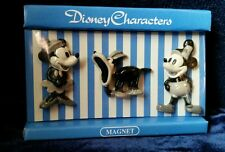 """Mickey Mouse, Minnie Mouse, and Goofy MAGNETS 1"""" - 1.5""""  Sekiguchi Japan Market"""