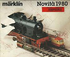 Catalogo Novità Marklin HO e Mini-club - 1980 -  In Italiano