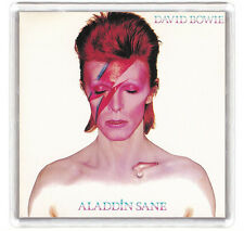 DAVID BOWIE - ALADDIN SANE LP COVER FRIDGE MAGNET IMAN NEVERA