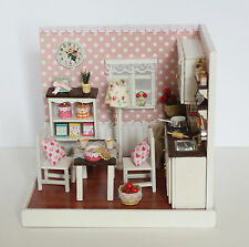 DIY CORNER ROOM  ( F-006) -DELICIOUS TIME, W/ LIGHT, FURNITURE, COVER