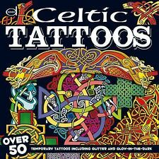 Dover Fun Kits: Celtic Tattoos : Over 50 Temporary Tattoos including Glitter...