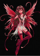 Red Fairy  Counted Cross Stitch Kit