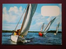 POSTCARD SAILING VESSELS YACHTS ON THE WATER (2)