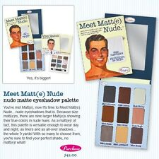 MEET MATT(E) NUDE- by The Balm!! Nude Eyeshadow Palette AUTHENTIC