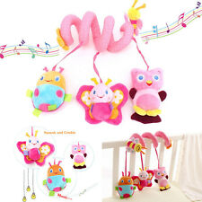 Cute Baby Bed Around/baby stroller Hanging Bell/ Rattle Mobile Musical Plush Toy