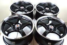 17 Drift Rims Wheels Dart Cobalt Aura Saab Volvo Focus Fusion HHR G6 5x108 5x110