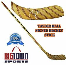 TAYLOR HALL Signed HOCKEY STICK! Edmonton Oilers! AUTOGRAPH! 2000289
