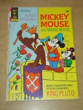 MICKEY MOUSE #134 FN (6.0) MINNIE PLUTO DISNEY GOLD KEY COMICS FEBRUARY 1972