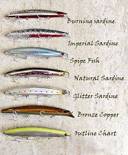 PAYO PERCA MAC TUNE 125F  Minnow fishing lure Striped Bass Spipe Fish