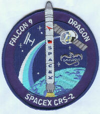SpaceX Falcon 9 Dragon CRS-2 Commercial Resupply Services Mission Space Patch