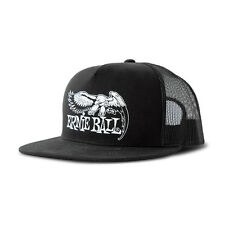 Ernie Ball 4158 Eagle Logo Mesh Adjustable Snapback Cap Hat Black
