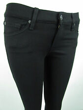 NEW 7 Seven For All Mankind THE SKINNY Jean Legging Women SZ 24 IN KNIT BLACK