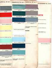 1958 BUICK SUPER CENTURY SPECIAL ROADMASTER LIMITED RIVIERA PAINT CHIPS DUPONT 4
