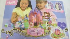 BARBIE PRINCESS PAUPER POP UP CASTLE GAME SERAFINA WOLFIE FIGURES MATTEL 2004