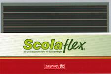 ScolaFlex Tafel Kunststofftafel L1A karriert / liniert Schultafel 1. Schuljahr