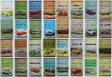 500 Different CAR Automobile Stamps (Auto 100 / Leaders of the World Collection)