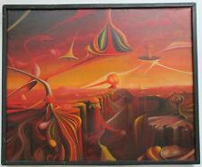 VINTAGE Oil Painting  Polish Artist Signed.