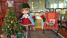 NEO Blythe Chu Things Christmas Dress & Hat Mint Unused