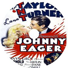 Johnny Eager 1942 Robert Taylor Lana Turner Van Heflin Rare Dvd