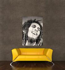 POSTER PRINT PAINTING MUSIC STAR REGGAE LEGEND BOB MARLEY ICON DREADS SEB433