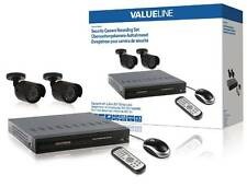 Valueline SVL-SETDVR30 Security Camera Recording Set Equipped with Built-in 500G