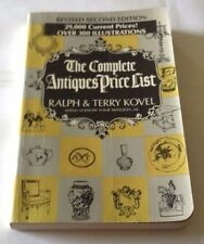 THE COMPLETE ANTIQUES PRICE LIST REVISED 2ND ED BY RALPH & TERRY KOVEL HF267