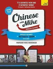 Learn Chinese with Mike Absolute Beginner Activity Book Seasons 1 & 2: Book + CD