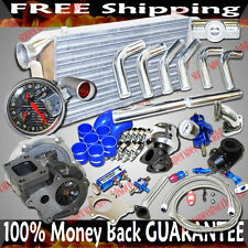 Universal Piping Kitis+Turbo Kits T3/T4 Turbo for 04 05 06 07 Mazda RX-8 RX8