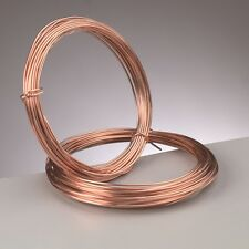 1.5 mm (14 Gauge) PURE COPPER Craft/gioielli Wire 1.75 METRI