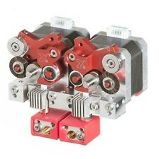 Dual Bundle High-temp Flexion Extruder for i3 style 3D Printers
