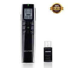 Newmen Wireless Presenter 2.4GHz Laser Pointer, Rechargeable PowerPoint