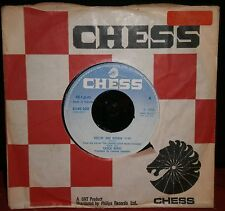 """CHUCK BERRY - REELIN AND ROCKIN / I WILL NOT LET YOU GO 6145 020 1972 CHESS 7"""""""