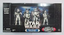 Star Wars Clone Troopers All White Variant EE Exclusive Action Figure 4PK
